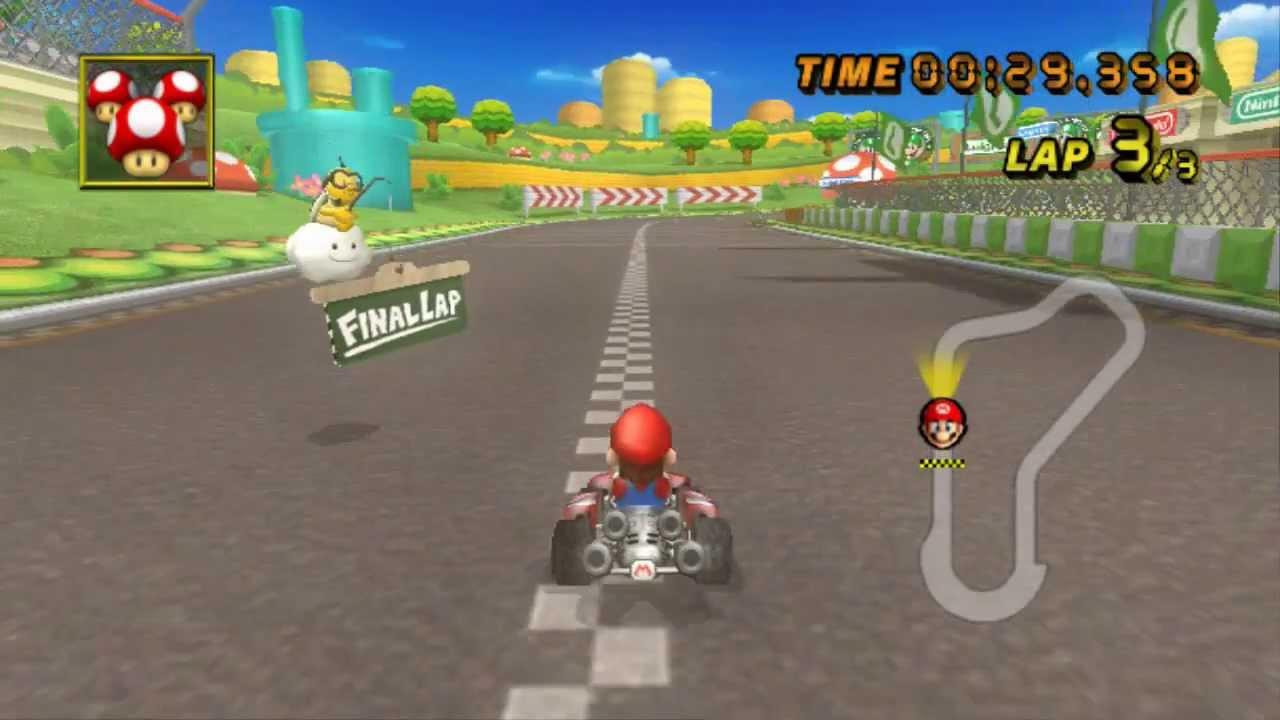 Mario Kart Wii Luigi Circuit