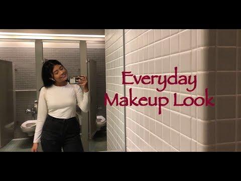 Quick everyday makeup tutorial thumbnail