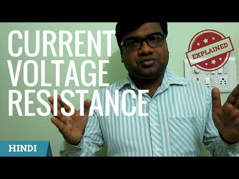 What is Current, Voltage and Resistance? in Hindi | Subodh Fating