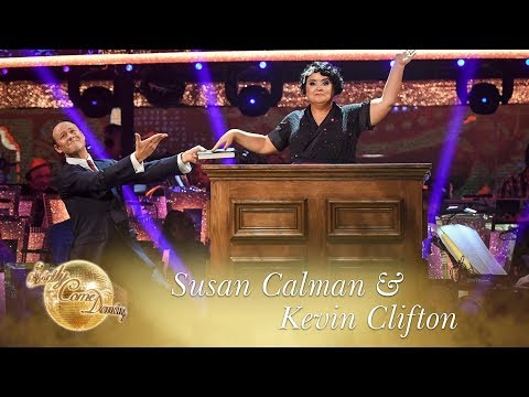 Susan Calman And Kevin Clifton Charleston To 'If You Knew Susie' - Strictly Come Dancing 2017