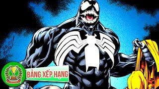 Top 10 Siêu Năng Lực Của Venom Mà Bạn Không Hề Hay Biết | Bảng Xếp Hạng