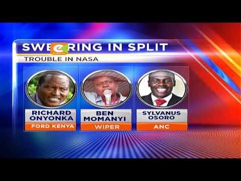 NASA leaders from Kisii, Nyamira endorse Uhuru presidency