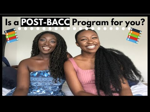 IS A POST-BACC PROGRAM FOR YOU?!