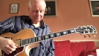 Jigsaw puzzle blues, Gibson Byrdland.