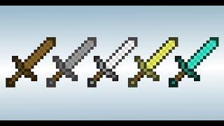 майнкрафт как сделать меч лучше