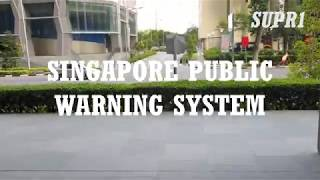 Singapore Public Warning System Total Defence Day 2020