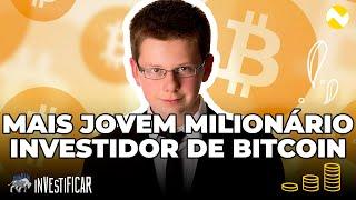 menino bitcoin milionário criptomoedas quantidade