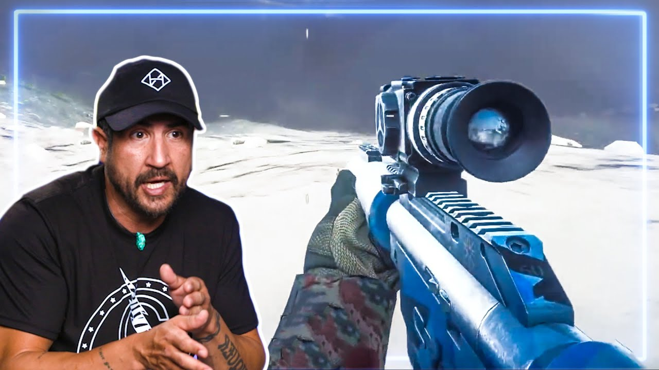 Sniper REACTS to Battlefield 4 | Experts React