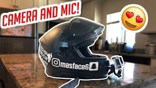 Motovlog Helmet Setup LIVE!