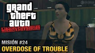 GTA Liberty City Stories - Misión #24 - Overdose of Trouble (Español/Sin Comentario - PCSX2)