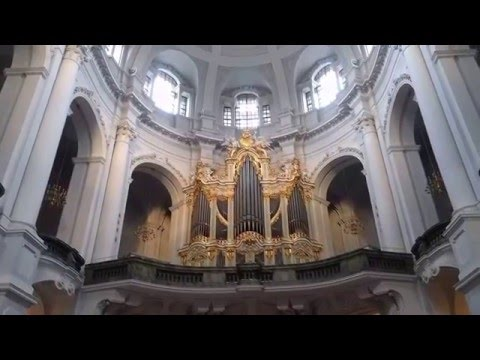 Organ inside Dresden's Hofkirche