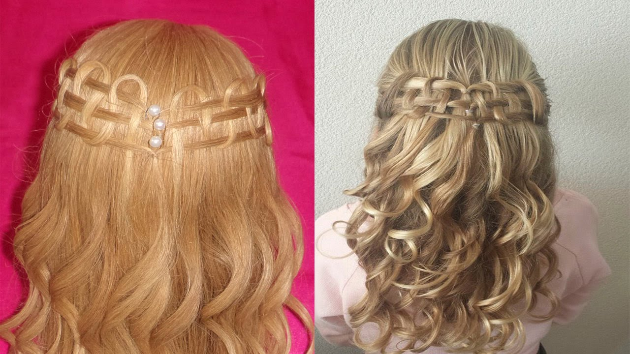 Peinado para novia xv a os primera comuni n graduacion - Peinados sencillos para comunion ...
