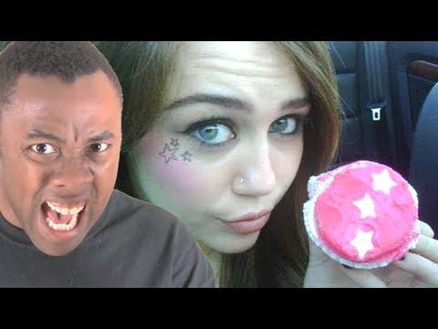 RANTS! MILEY CYRUS Eats PEN1S CAKE! Black Nerd Rantsиз YouTube · Длительность: 3 мин41 с