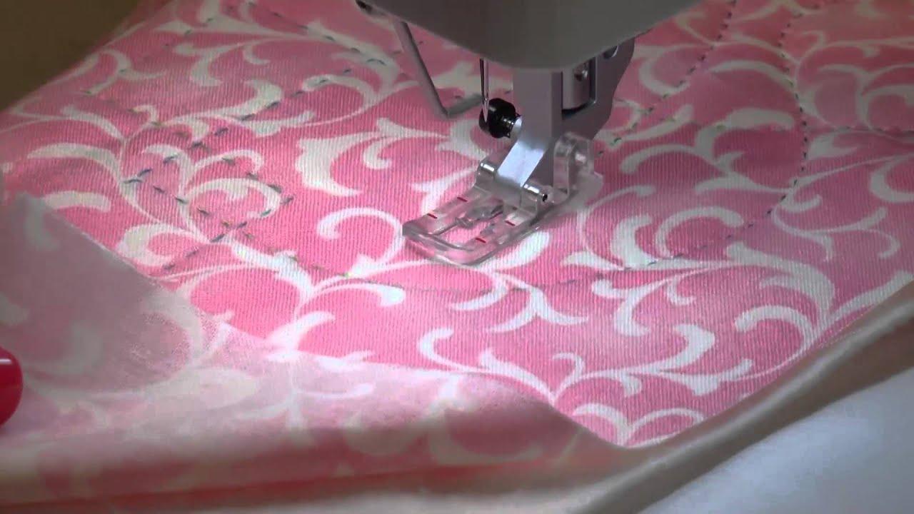 The sashiko stitch tutorial: applique corner youtube