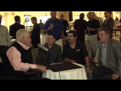 Don Shula and Mike Ditka Interviewed by Zito and Garrett - K-Rock 96.1 - Fort Myers, Florida
