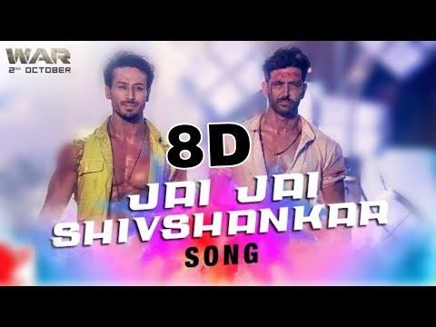Jai Jai Shivshankar : 8d Song  War  Hrithik Roshan  Tiger Shroff  8dbollywood