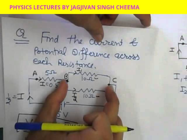 NUMERICALS ON ELECTRICITY CLASS 10TH ELECTRICITY PART-18