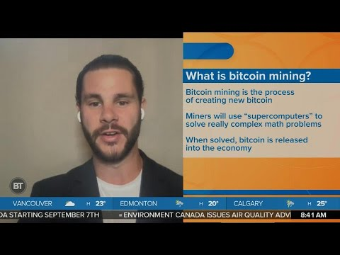 What exactly is bitcoin mining