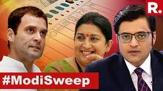India Rejects Hate And Dynasty. Has Dynasty Politics Ended? | The Debate With Arnab Goswami