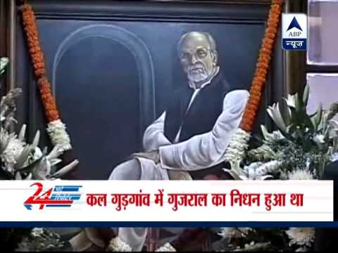 PM, senior ministers pays homage to former PM IK Gujral