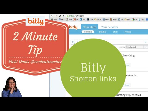 Shortening Links & Tracking Stats with Bitly (2 Minute Tip)