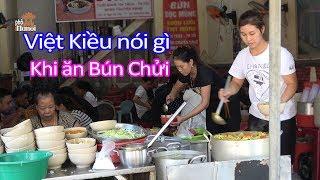 Việt Kiều Mĩ ăn bún chủi có cảm nhận gì về Hà Nội trong hai ngày #hnp