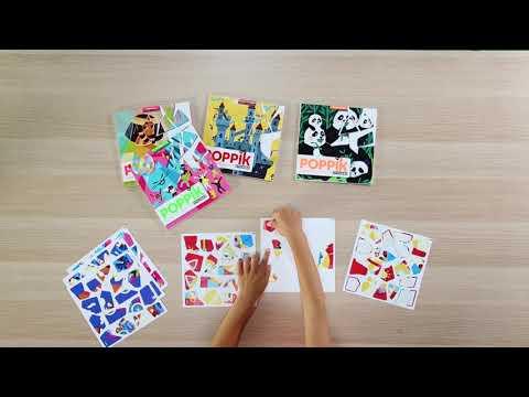 Poppik : les puzzles en stickers à emporter partout !