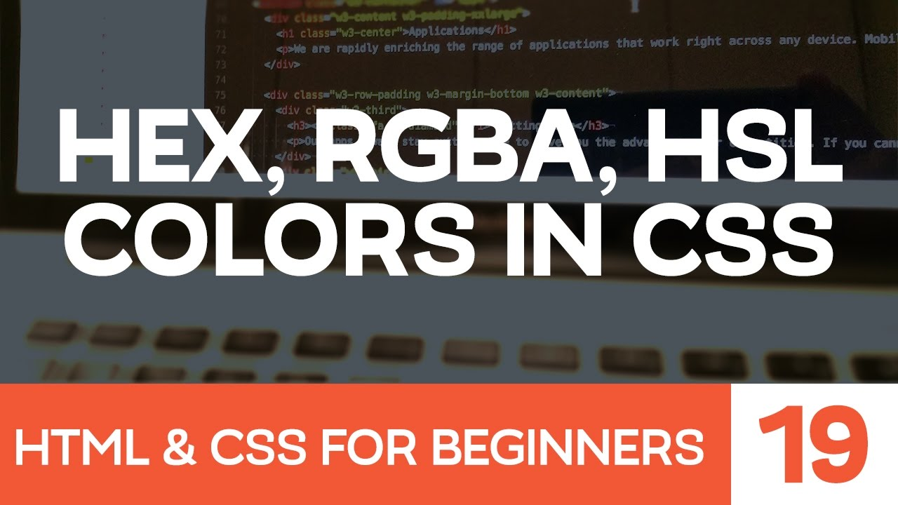 Color picker online rgba - Html Css For Beginners Part 19 Colors With Css Hex Rgba And Maxresdefault Watch V