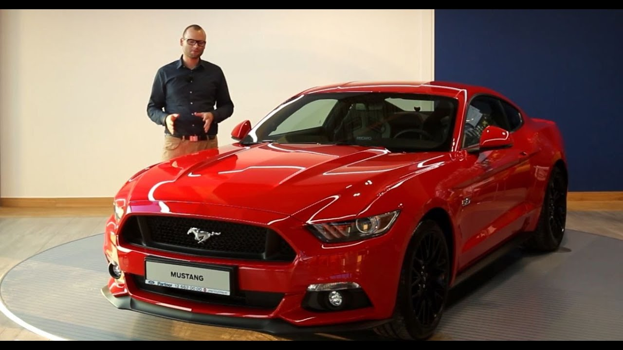 Nowy ford mustang 2015 w salonie ford store partner