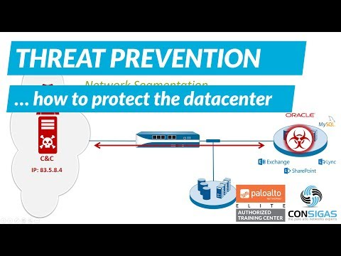 How to protect the Datacenter - Palo Alto Networks FireWall Concepts Training Series