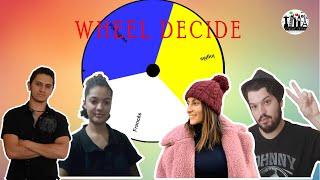 Desafio Poliglota- Wheel Decide ( Inglês, Francês e Esperanto) feat. Pam e João ( Canal Gororoba)