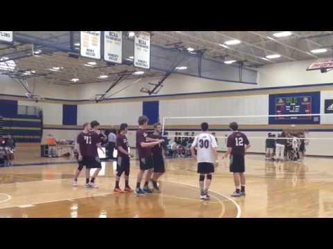 East Greenwich vs Cranston East RIIL Boys High School Volleyball State Championship