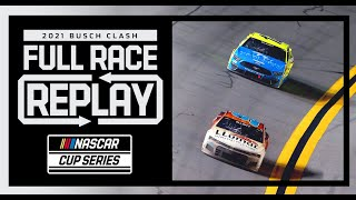 The 2021 Busch Clash from Daytona | NASCAR Full Race Replay