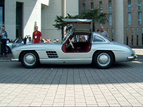 Mercedes 300SL Gullwing with Awesome Sound !