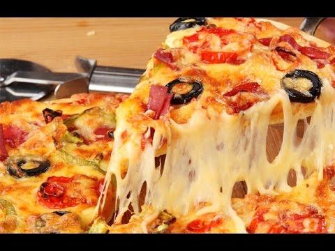 Вкусная и низкокалорийная пицца