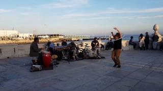 Banda T3ka na Praça do comercio