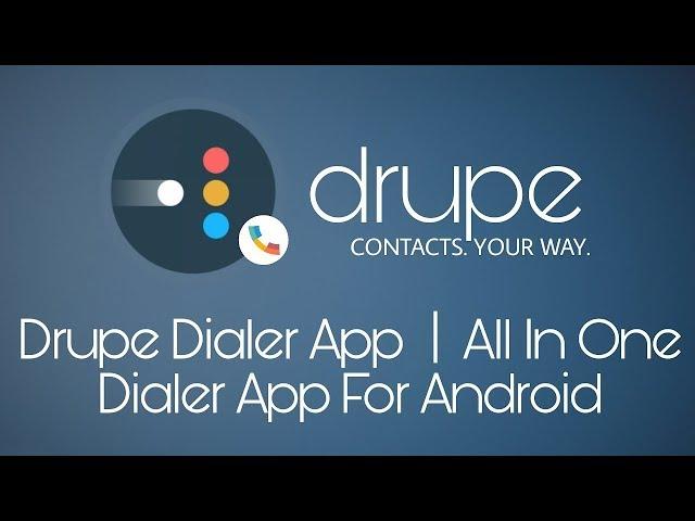 Drupe pro mod apk download | Contacts Phone Dialer: drupe PRO v3