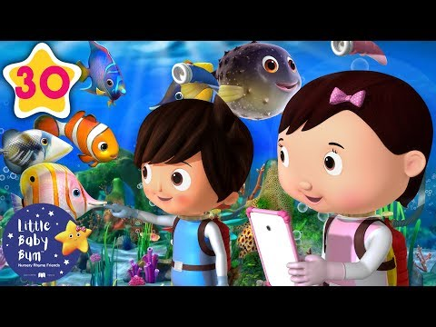10 Little Fishes | BRAND NEW! Baby Songs | Nursery Rhymes & Kids Songs | Little Baby Bum