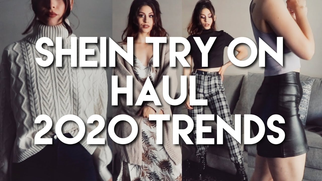 Shein Try-On Haul | 2020 Fall Trends&Must Haves!