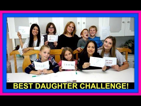 BEST DAUGHTER CHALLENGE! | FAN MAIL!