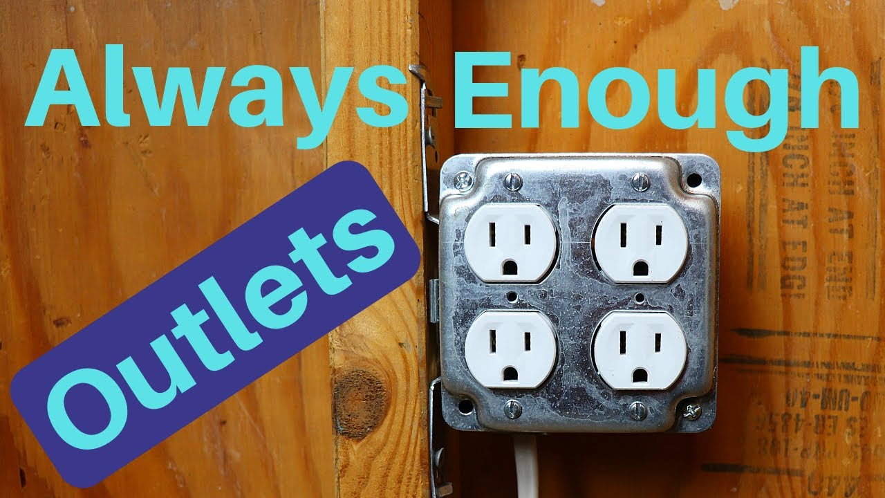 How to Wire a Double Duplex Outlet - YouTube | Two Duplex Receptacle Wiring A Circuit |  | YouTube