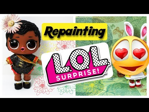 LET'S CUSTOMIZE LOL SURPRIZE DOLL Unboxing and Repaint by Poppen Atelier