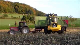 Land unter bei der Maisernte 2013 |Festfahrszenen |Sound/Musik