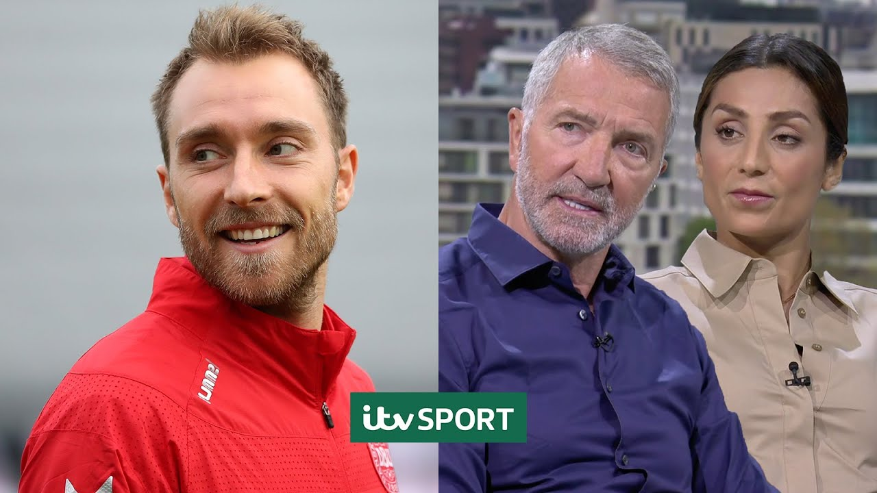 ITV Sport pundits pay tribute to heroes who helped save Christian Eriksen