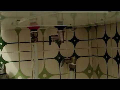 Замена обратного клапана на водонагревательном баке (бойлере).
