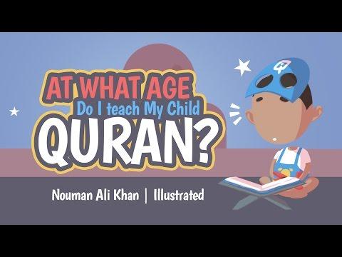 Pada umur berapakah sesuai untuk ajar anak dengan Al-Quran?