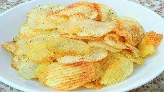 फटाफट आलू चिप्स बनाने का सटीक तरीका//The exact way to make instant potato chips