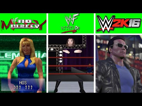 16 Of The Biggest W.T.F Characters You Can Play As In Wrestling Video Games!