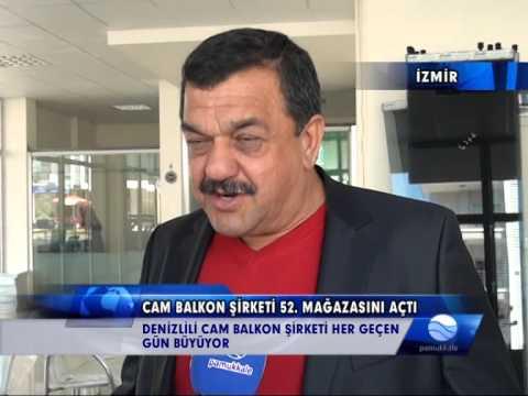ŞAVKLI CAM BALKON EGE'DE BÜYÜMEYE DEVAM EDİYOR