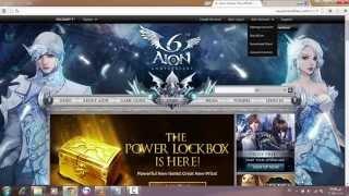 Обложка на видео о How to download aion